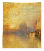 Opalescent Venice Fleece Blanket