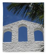 Open Air In St. Maarten Fleece Blanket