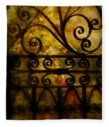 Open Iron Gate Fleece Blanket
