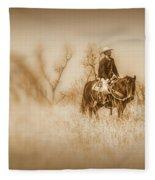 Open Range Fleece Blanket