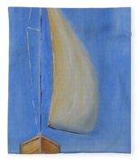 Open Sail Fleece Blanket