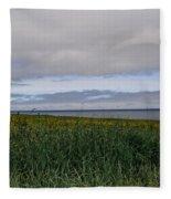 Open Vista. Lizard Point. Fleece Blanket