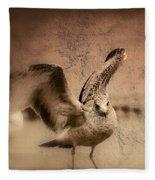 Open Wings Fleece Blanket