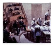 Operating Amphitheater, Administering Fleece Blanket