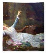 Ophelia Fleece Blanket