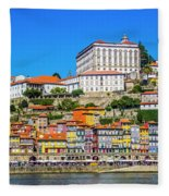 Oporto Riverfront Fleece Blanket