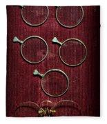 Optician - Optometrist Lens Fleece Blanket
