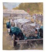 Opulence At Althorp Fleece Blanket
