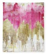 Opulence Rose Fleece Blanket