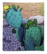 Opuntia Fleece Blanket