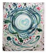Oracular Yule Wreath Fleece Blanket