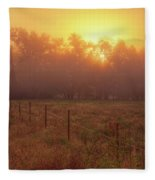 Oranage Dawn Fleece Blanket