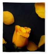 Orange Beauty 2 Fleece Blanket