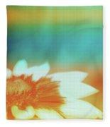 Orange Dreams Fleece Blanket