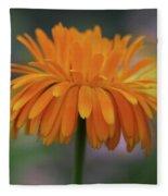 Orange Glow Fleece Blanket