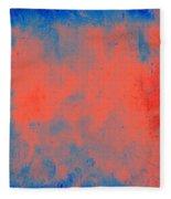 Orange Obsession Fleece Blanket