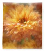 Orange Passion Fleece Blanket