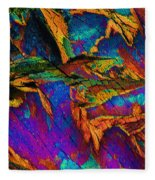 Orange Spice Fleece Blanket