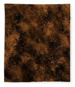 Orange Textures 001 Fleece Blanket