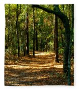 Orangedale Path Fleece Blanket