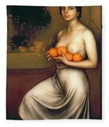 Oranges And Lemons Fleece Blanket