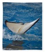 Orca 1 Fleece Blanket