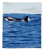 Orca Fleece Blanket