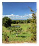 Orchard 1 H Fleece Blanket