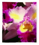 Orchid 1 Fleece Blanket