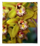 Orchid 11 Fleece Blanket