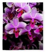Orchid 12 Fleece Blanket