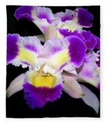 Orchid 13 Fleece Blanket