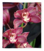 Orchid 14 Fleece Blanket