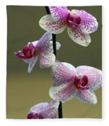 Orchid 16 Fleece Blanket