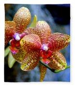 Orchid 17 Fleece Blanket