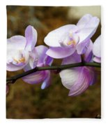 Orchid 18 Fleece Blanket