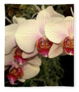 Orchid 19 Fleece Blanket