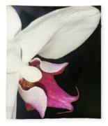 Orchid-2 Fleece Blanket