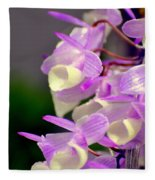 Orchid 25 Fleece Blanket