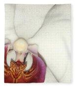 Orchid-3 Fleece Blanket
