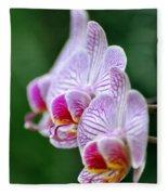 Orchid 30 Fleece Blanket
