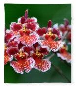 Orchid 31 Fleece Blanket