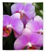 Orchid 5 Fleece Blanket