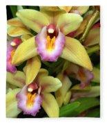 Orchid 7 Fleece Blanket