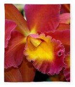 Orchid 8 Fleece Blanket