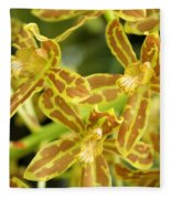 Orchid Drama Canvas Fleece Blanket