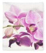 orchid II Fleece Blanket