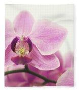 orchid III Fleece Blanket