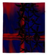 Orchid Impression Fleece Blanket