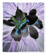 Orchid Inverted Fleece Blanket